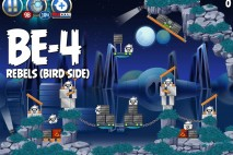 Angry Birds Star Wars 2 Rebels Level BE-4 Walkthrough