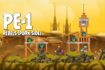 Angry Birds Star Wars 2 Rebels Level PE-1 Walkthrough