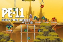Angry Birds Star Wars 2 Rebels Level PE-11 Walkthrough