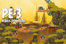 Angry Birds Star Wars 2 Rebels Level PE-3 Walkthrough