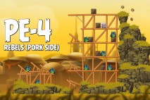 Angry Birds Star Wars 2 Rebels Level PE-4 Walkthrough