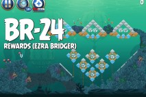 Angry Birds Star Wars 2 Rewards Chapter Level BR-24 Ezra Bridger Walkthrough