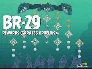 "Angry Birds Star Wars 2 Rewards Chapter Level BR-29 Garazeb ""Zeb"" Orrelios Walkthrough"
