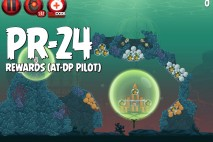 Angry Birds Star Wars 2 Rewards Chapter Level PR-24 AT-DP Pilot Walkthrough