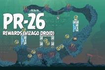Angry Birds Star Wars 2 Rewards Chapter Level PR-26 Vizago Droid Walkthrough