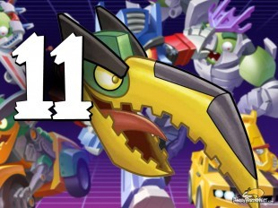 Let's Play Angry Birds Transformers   Part 11   Grimlock Rocks!