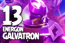 Let's Play Angry Birds Transformers | Part 13 | Energon Galvatron