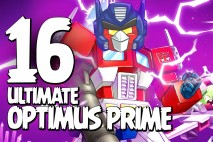 Let's Play Angry Birds Transformers   Part 16   Ultimate Optimus Prime