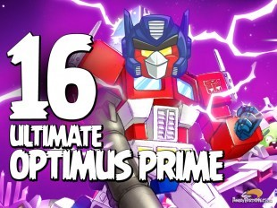 Let's Play Angry Birds Transformers | Part 16 | Ultimate Optimus Prime
