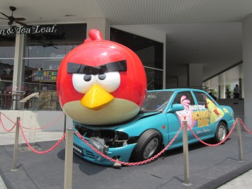 Angry Birds Activity Park JB Malaysia Sculpture
