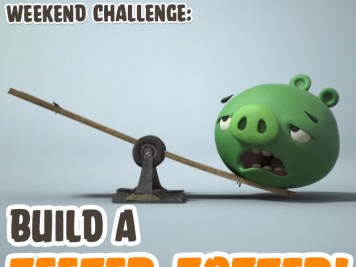 Bad Piggies Teeter Totter Weekend Challenge 18 Oct 2014