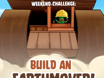 Bad Piggies Earthmover Weekend Challenge 15 Nov 2014