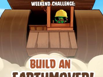 Bad Piggies Earthmover Weekend Challenge 15 Nov 2014