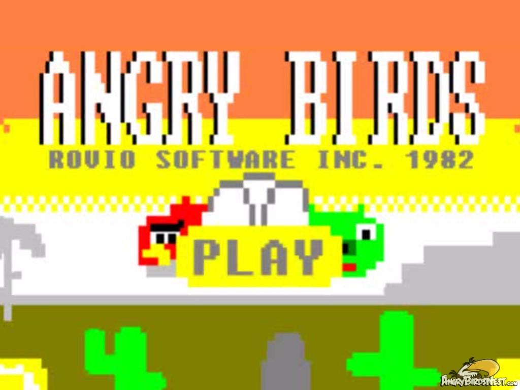 What if angry birds were made in the 80s angrybirdsnest voltagebd Choice Image