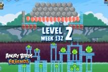 Angry Birds Friends Tournament Level 2 Week 132 Walkthrough | November 24th 2014