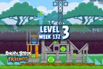 Angry Birds Friends Tournament Level 3 Week 132 Walkthrough | November 24th 2014