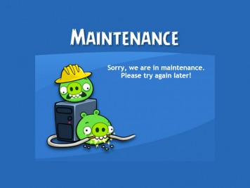 Angry Birds Friends Maintenance Featured Image