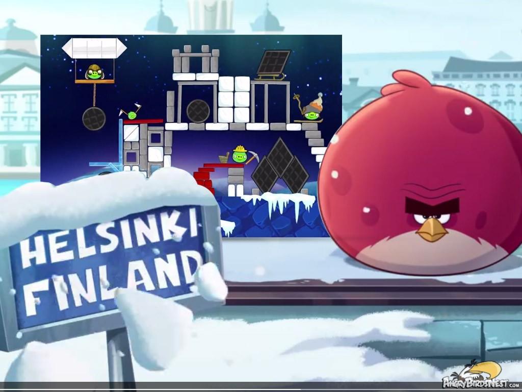 Angry Birds Seasons On Finn Ice Trailer Reveals New Bird