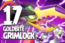 Let's Play Angry Birds Transformers | Part 17 | Goldbite Grimlock