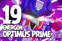 Let's Play Angry Birds Transformers | Part 19 | Energon Optimus Prime