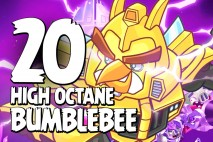 Let's Play Angry Birds Transformers | Part 20 | High Octane Bumblebee