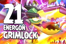 Let's Play Angry Birds Transformers | Part 21 | Energon Grimlock