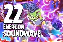 Let's Play Angry Birds Transformers | Part 22 | Energon Soundwave