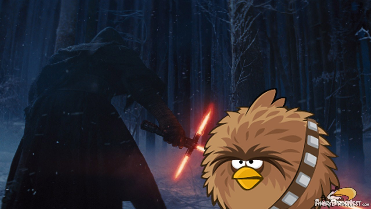 The Angry Birds Watch The Star Wars Episode Vii The Force Awakens Trailer Angrybirdsnest