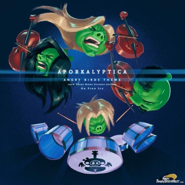 Apocalyptica - Angry Birds Theme - Single 6