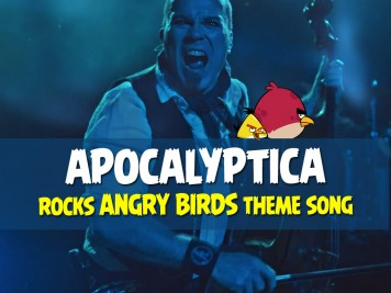 Apocalyptica Rocks the Angry Birds Theme Song in New Music Video Featured Image