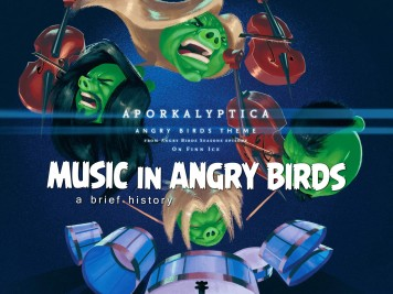 History of Music in Angry Birds with Apocalyptica On Finn Ice Featured Image