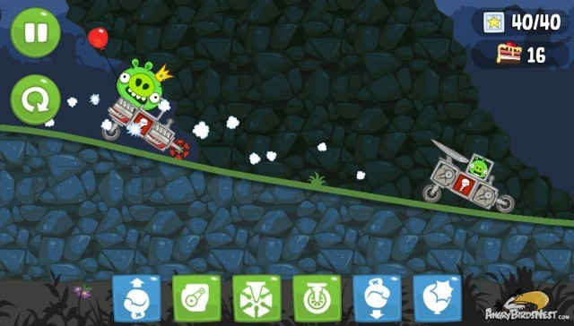 Bad Piggies Racecar Weekend Challenge