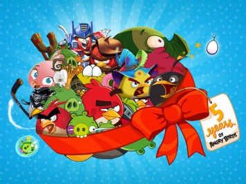 Angry Birds 5 Years of Angry Birds Image