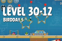 Angry Birds BirdDay 5 Level 30-12 Walkthrough