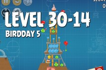 Angry Birds BirdDay 5 Level 30-14 Walkthrough