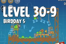 Angry Birds BirdDay 5 Level 30-9 Walkthrough