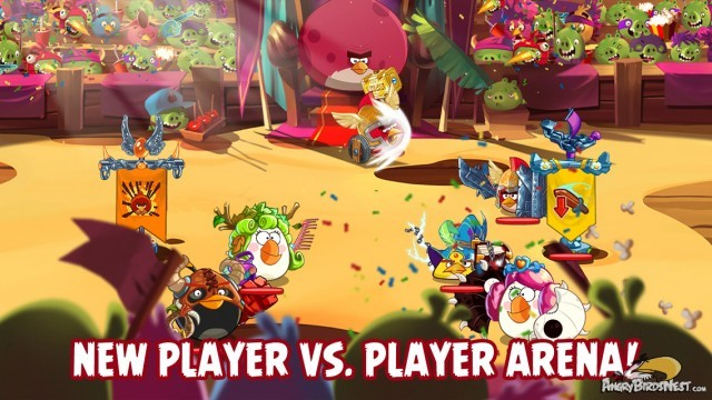 Angry Birds Epic PvP Update Battle Arena