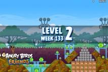 Angry Birds Friends TNT Tournament Level 2 Week 133 Walkthrough | December 1st 2014