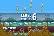 Angry Birds Friends TNT Tournament Level 6 Week 133 Walkthrough | December 1st 2014