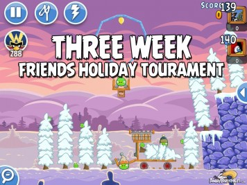 Angry Birds Friends Holiday Tournament 2014 Featured Image