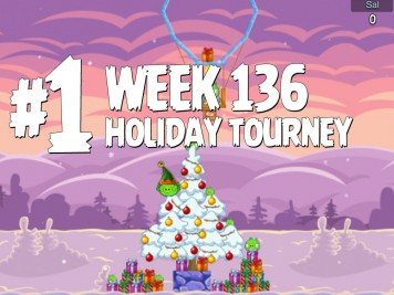 Angry Birds Friends Level 1 Week 136 Labeled