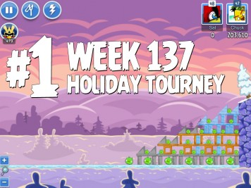 Angry Birds Friends Level 1 Week 137 Labeled