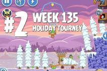 Angry Birds Friends Holiday Tournament Level 2 Week 135 Walkthrough | December 15th 2014