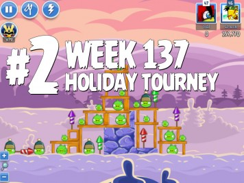 Angry Birds Friends Level 2 Week 137 Labeled