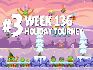 Angry Birds Friends Level 3 Week 136 Labeled
