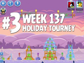 Angry Birds Friends Level 3 Week 137 Labeled