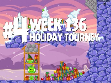 Angry Birds Friends Level 4 Week 136 Labeled