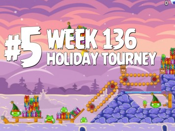 Angry Birds Friends Level 5 Week 136 Labeled