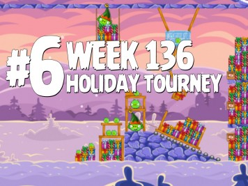 Angry Birds Friends Level 6 Week 136 Labeled
