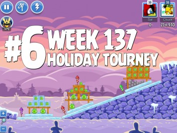 Angry Birds Friends Level 6 Week 137 Labeled